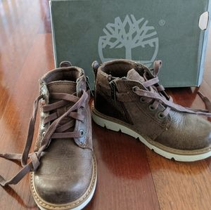 Timberland Brown Toddler Boots | Size 10